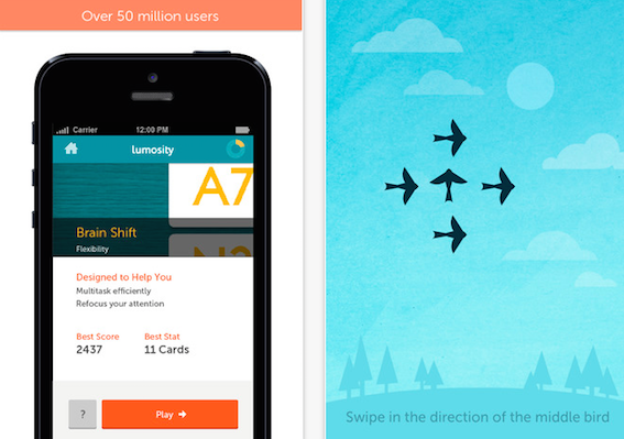 Lumosity-Mobile App utili per anziani