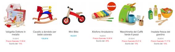 giocattoli ecologici per bambini-regalo