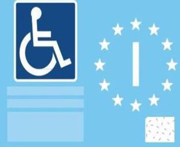 Contrassegno per disabili europeo