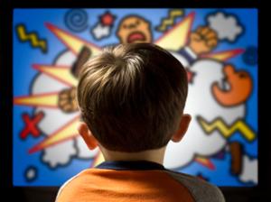 bambini e cartoni animati