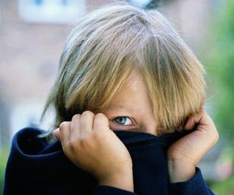 bambini timidi