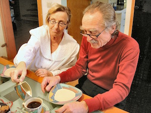 convivenza con genitori anziani