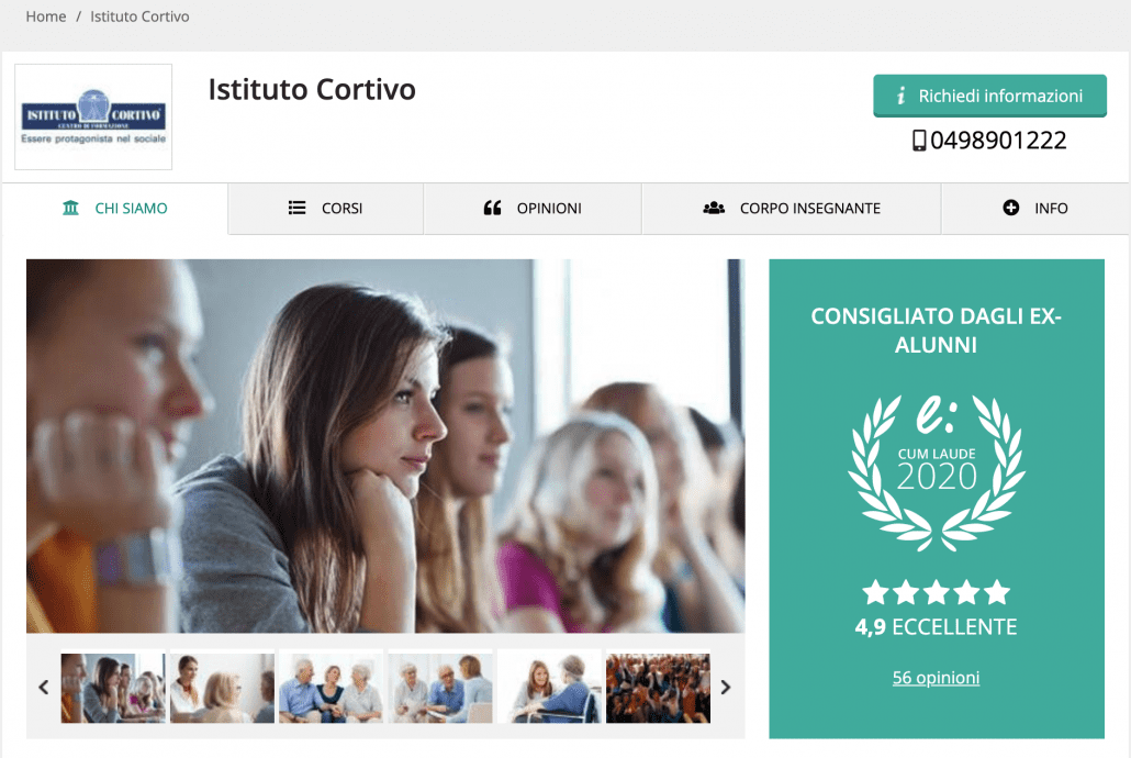 Istituto Cortivo Emagister